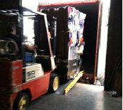 Loading Bales with a Forklift