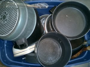 Bulk Used Kitchenware