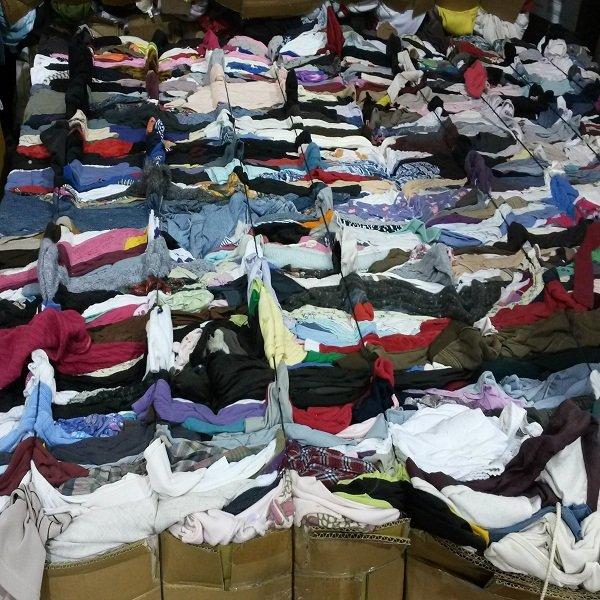 venta de ropa mixta a por mayor