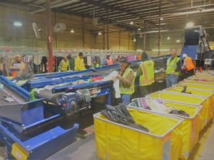 Credential clothing warehouse operations