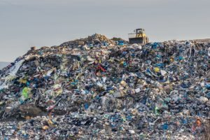 landfill heaps of used goods bad for earth