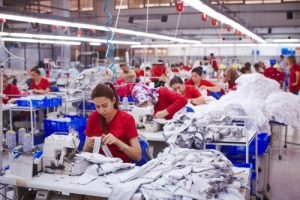 clothing factory in asia