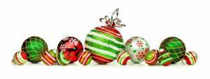 bright cheery christmas decorations