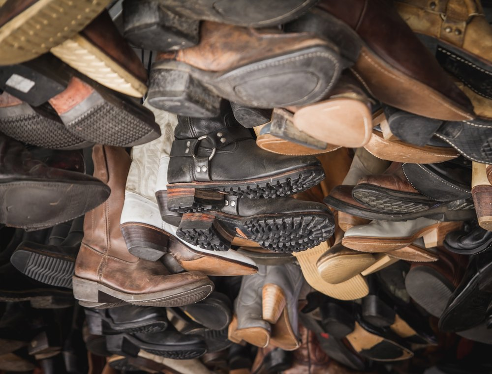 bulk used shoes and boots